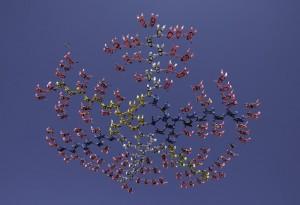 Pinkskies in the air