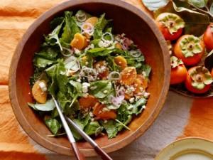 kale-persimmon-salad-pecan-vinaigrette
