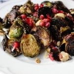 Recipe Brussels Sprouts pomegranate hazelnuts