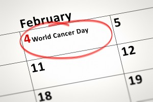February the 4th World Cancer Day