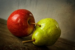 Pear & Apple Green Red FreeImages.com 4-16-15