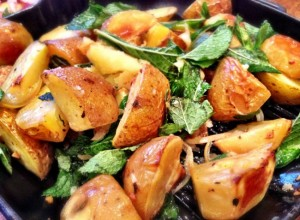 East Indian Mint Potatoes Recipe