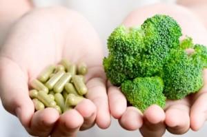 illness, vegetables, supplements, broccoli
