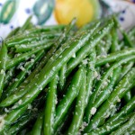 recipe, ginger,garlic, green beans