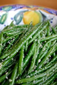recipe, ginger,garlic, green beans