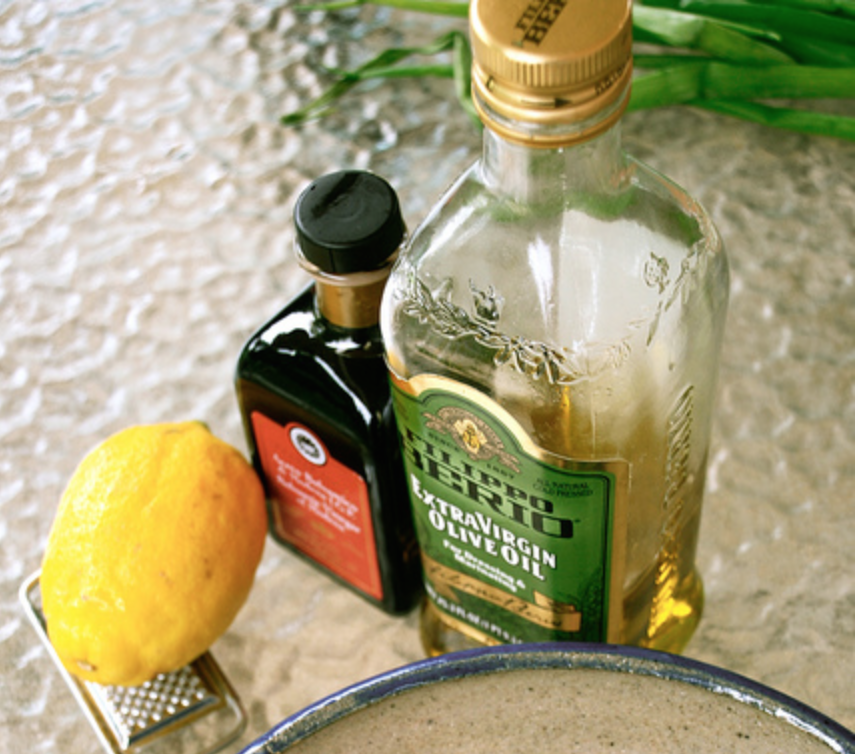 Balsamic Lemon Salad Dressing