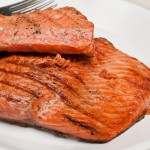 Recipe Grilled Salmon Romesco Sauce