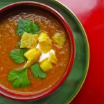 Red Pepper Soup with Sour Cream Recipe