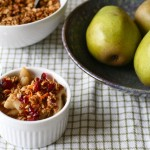 Pear Almond Crisp Recipe