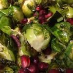 Brussel Sprouts Pomegranate Recipe