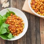 Chickpea Garbanzo Beans Curry Recipe
