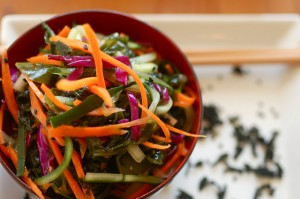 Seaweed Ginger Carrot Salad Recipe