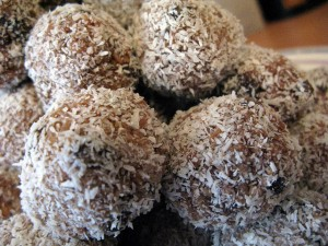 Lemon Nut Treat Balls Recipe