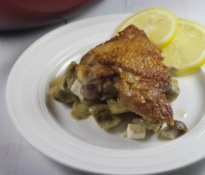 Chicken Artichoke Olive Recipe