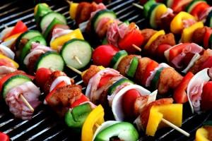 Recipe Kebabs Veggies Grill