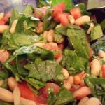 White Bean Arugula Tomato Salad Recipe