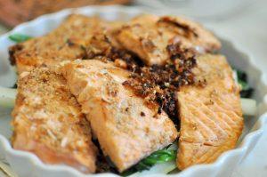 Almond Crusted Salmon Recipe