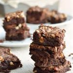 Gluten Free Double Chocolate Brownie Bites