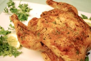 Garlic Roasted Chicken Recipe