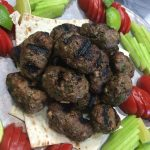 Currant Kofta With Tahini Dipping Sauce