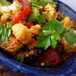 ROASTED CAULIFLOWER SALAD WITH TAHINI