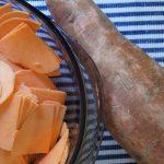Ginger Sweet Potato Chips