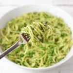 Zoodles with Pea Pesto