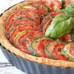 Cancer Fighting Recipe tomato zucchini pie