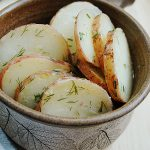 Dijon Vinaigrette Potato Salad