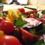 recipe heirloom tomato salad