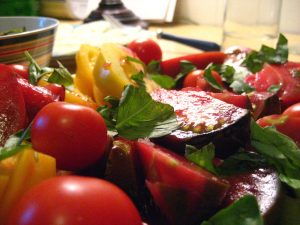recipe heirloom tomato salad