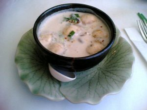Coconut Thai Soup with Chicken