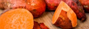 Sweet Potatoes with Tahini Butter